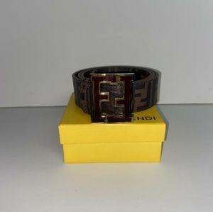 Brown Fendi Belt